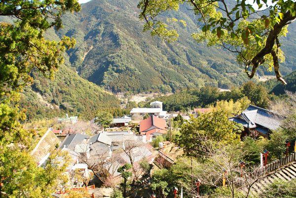 熊野那智大社 景色