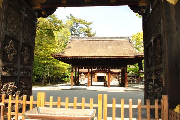 豊国神社 拝殿