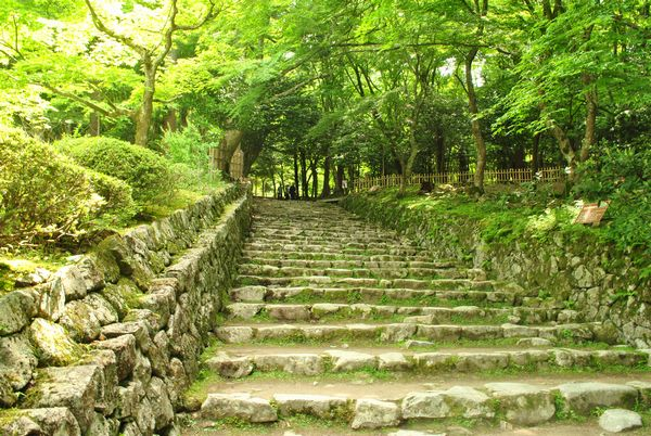 百済寺 石垣