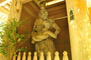 百済寺 仁王像