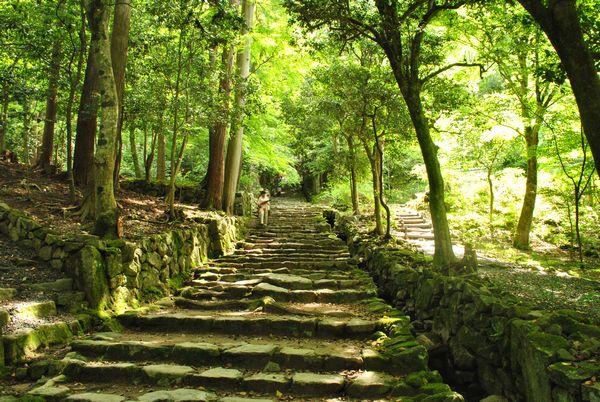百済寺 参道