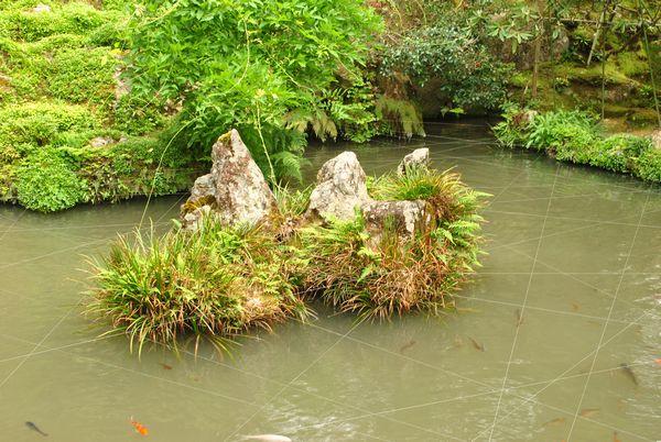 蓬莱庭 鶴島