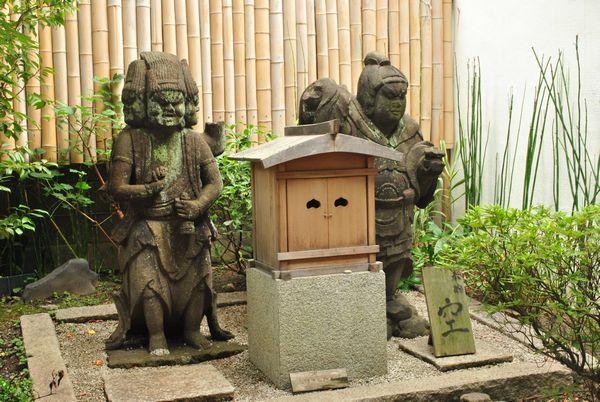 因幡堂 石像