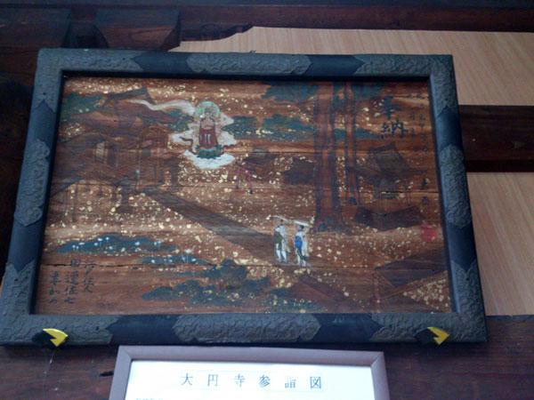 大円寺参詣図