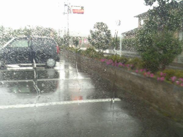 観音の里たかつきふるさとまつり 雨