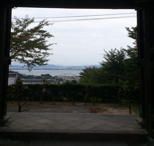 西教寺 レイクビュー