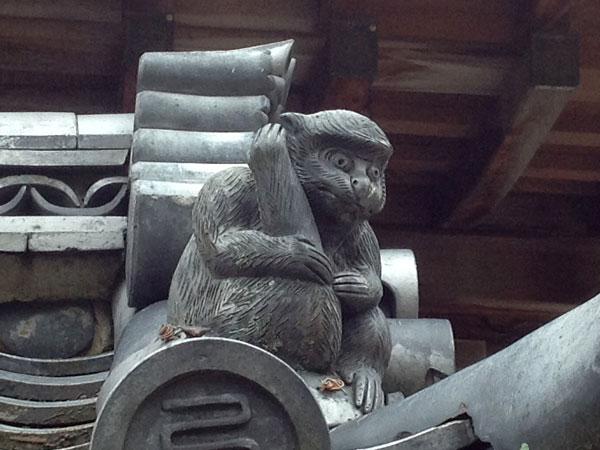西教寺 猿
