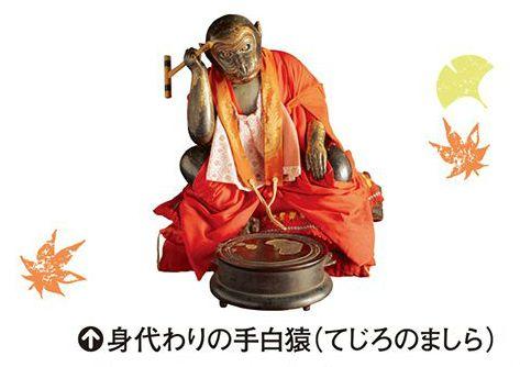西教寺 手白猿