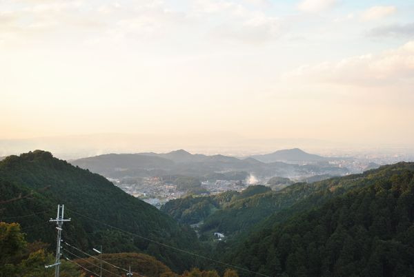 壺阪山 景色