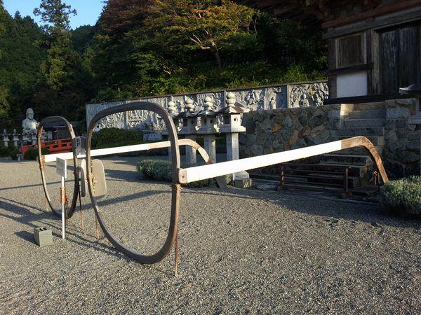 壺坂寺 メガネ