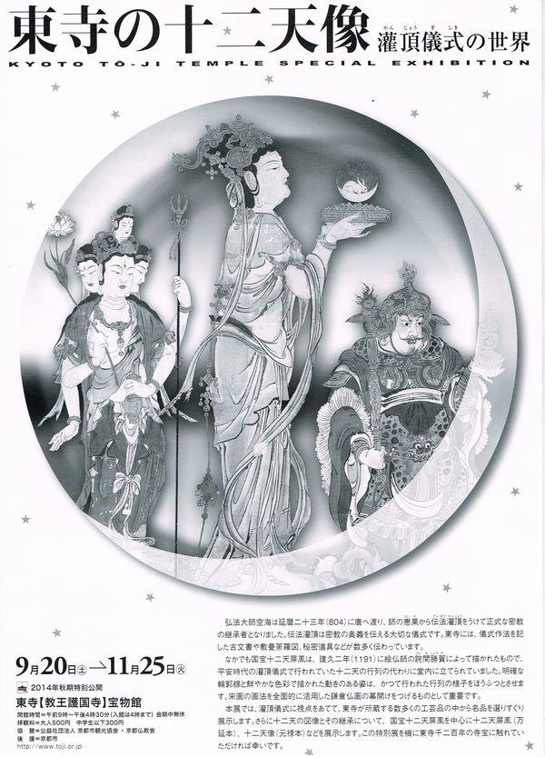 東寺の十二天像 潅頂儀式の世界