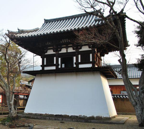 新薬師寺 鐘楼
