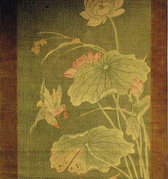 頂妙寺 蓮紙織画