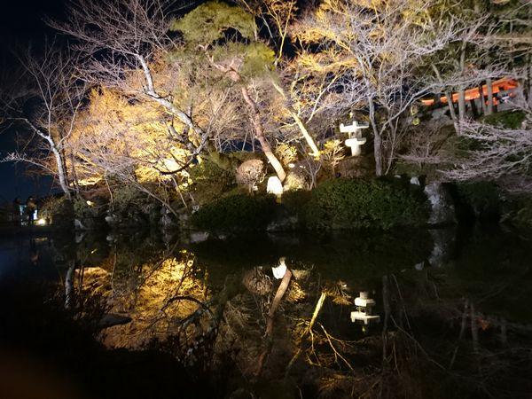 清水寺 池
