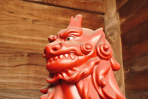 中山寺 狛犬