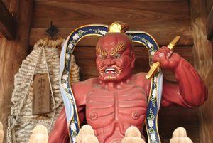 中山寺 仁王像
