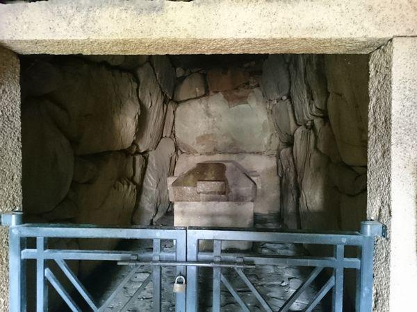 中山寺古墳 石棺