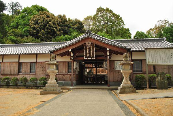 丹生酒殿神社 拝殿