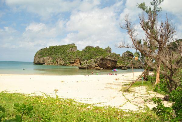 浜比嘉島 ビーチ