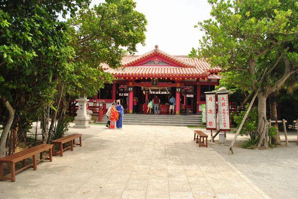 波上宮 社殿