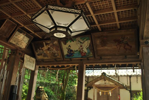 片山神社 絵馬殿