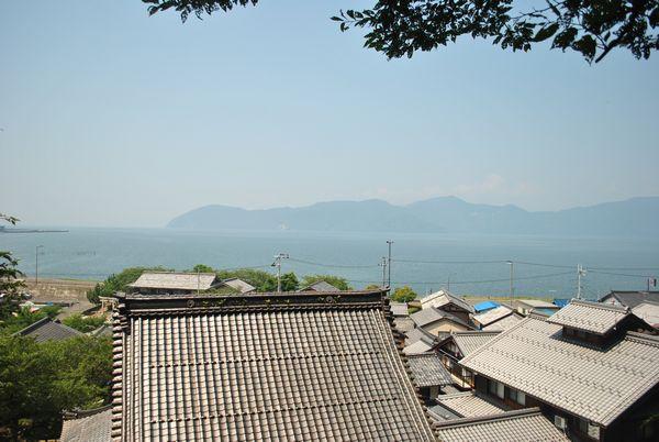片山神社 景色