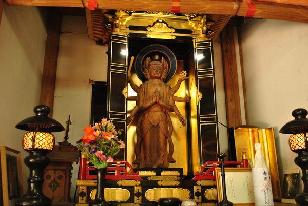 横山神社 馬頭観音