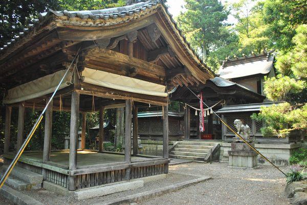 横山神社 社殿