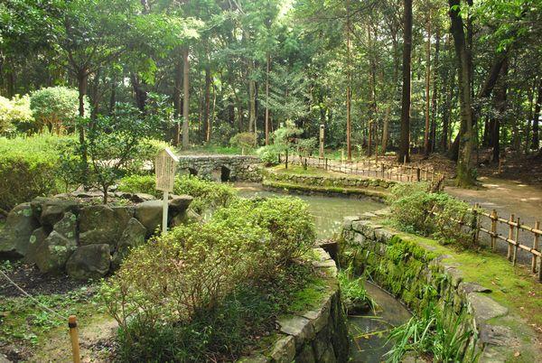 大麻比古神社 心願の鏡池
