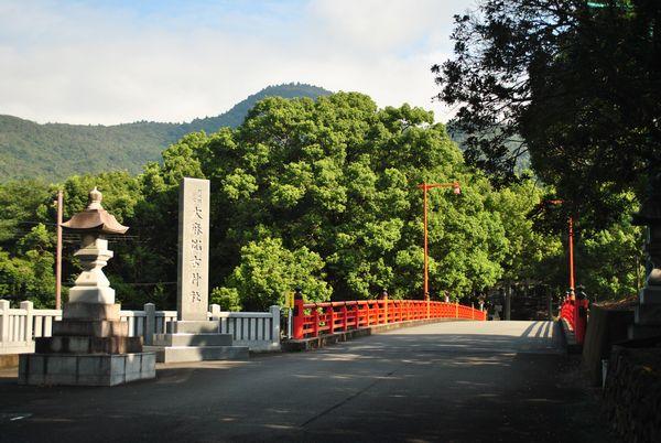 祓川橋 大麻山