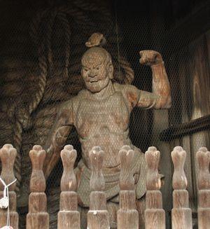 霊山寺 仁王像