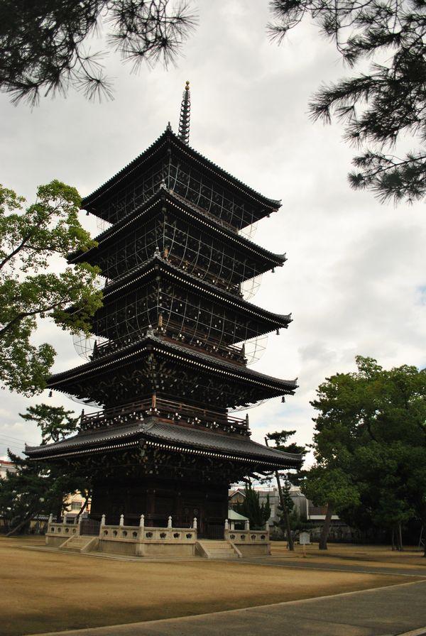 善通寺 五重塔