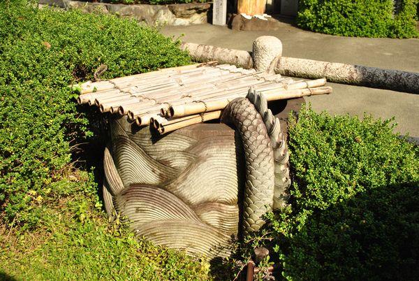 田村神社 竜神