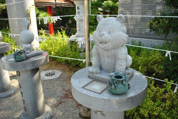 田村神社 かわいい干支