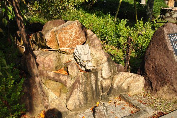田村神社 磐座 竜神