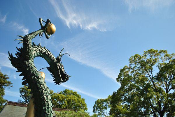 田村神社 竜