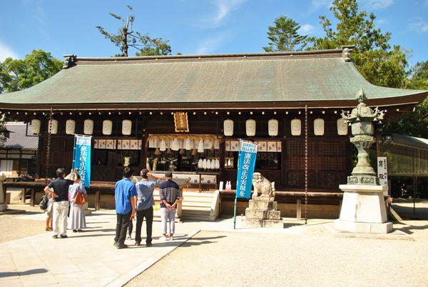 いざなぎ神宮 拝殿