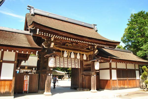 いざなぎ神宮 神門