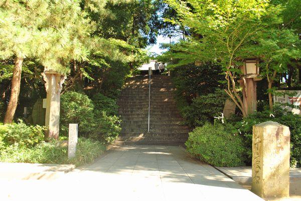 おのころ島神社 階段