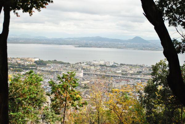 八王子山 琵琶湖