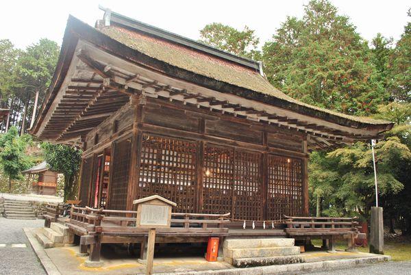 日吉大社 樹下拝殿