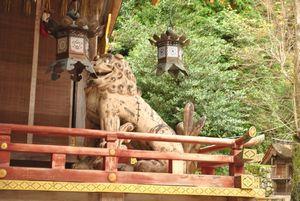 樹下宮 獅子
