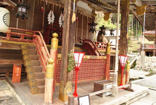 日吉大社 樹下宮本殿