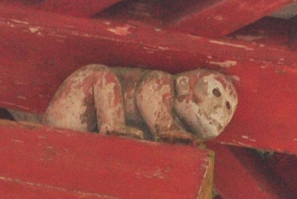 西本宮 楼門 猿
