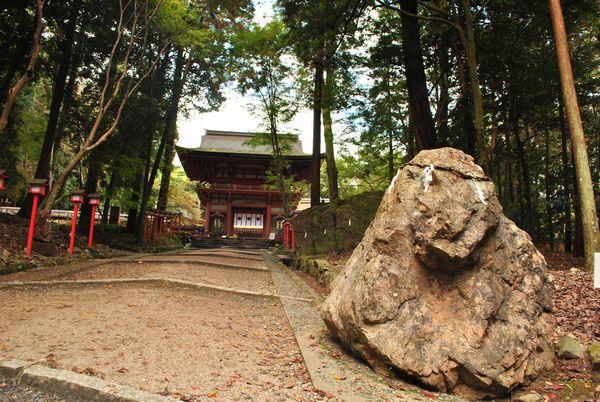 日吉大社 猿の霊石