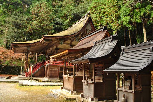 日吉大社 社殿