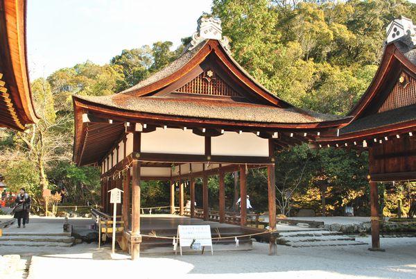 上賀茂神社 橋殿