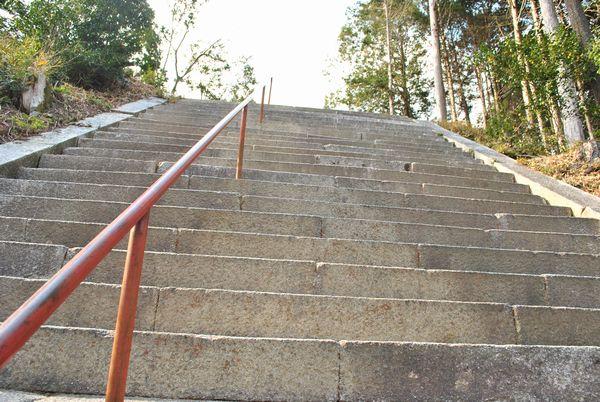 日吉東照宮 階段