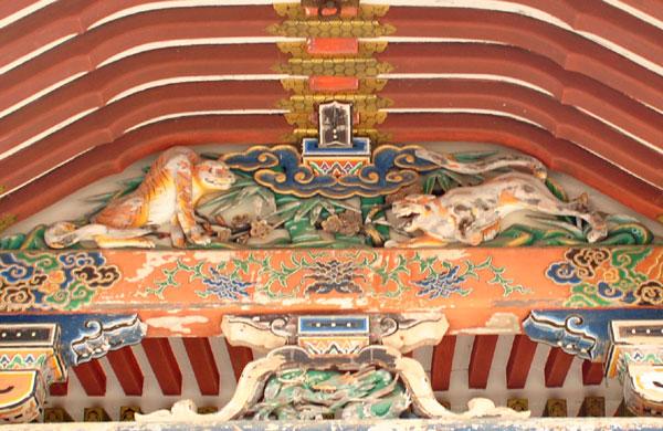 日吉東照宮 拝殿 唐破風