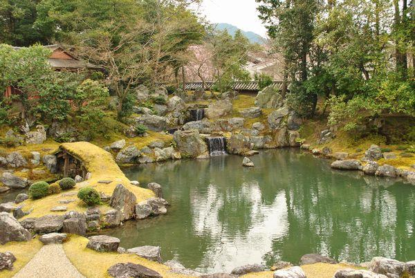 三宝院庭園 滝